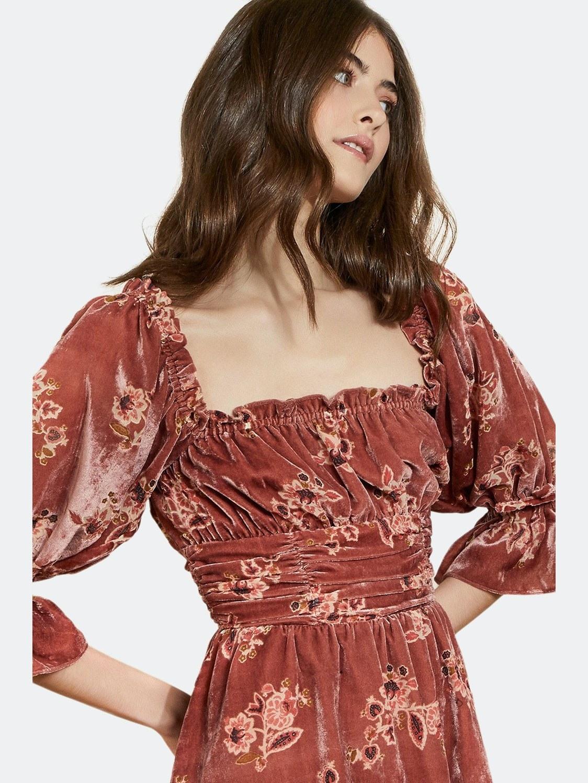 model wearing the dress