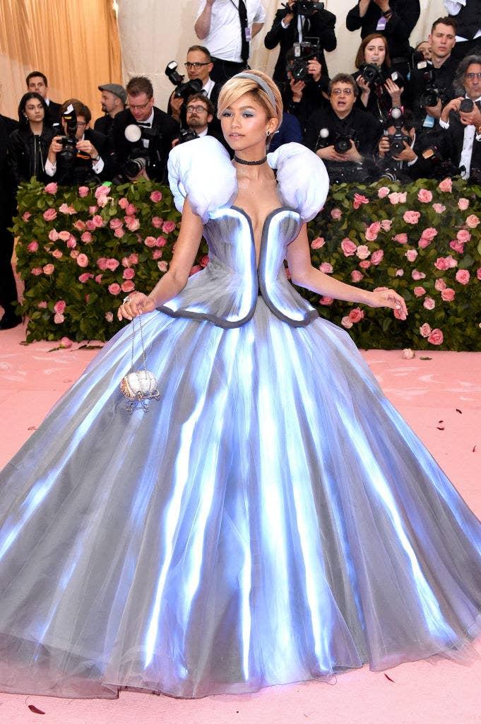 Zendaya attends The 2019 Met Gala Celebrating Camp: Notes on Fashion