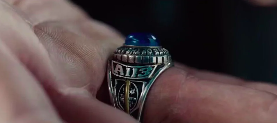The ring that says A113