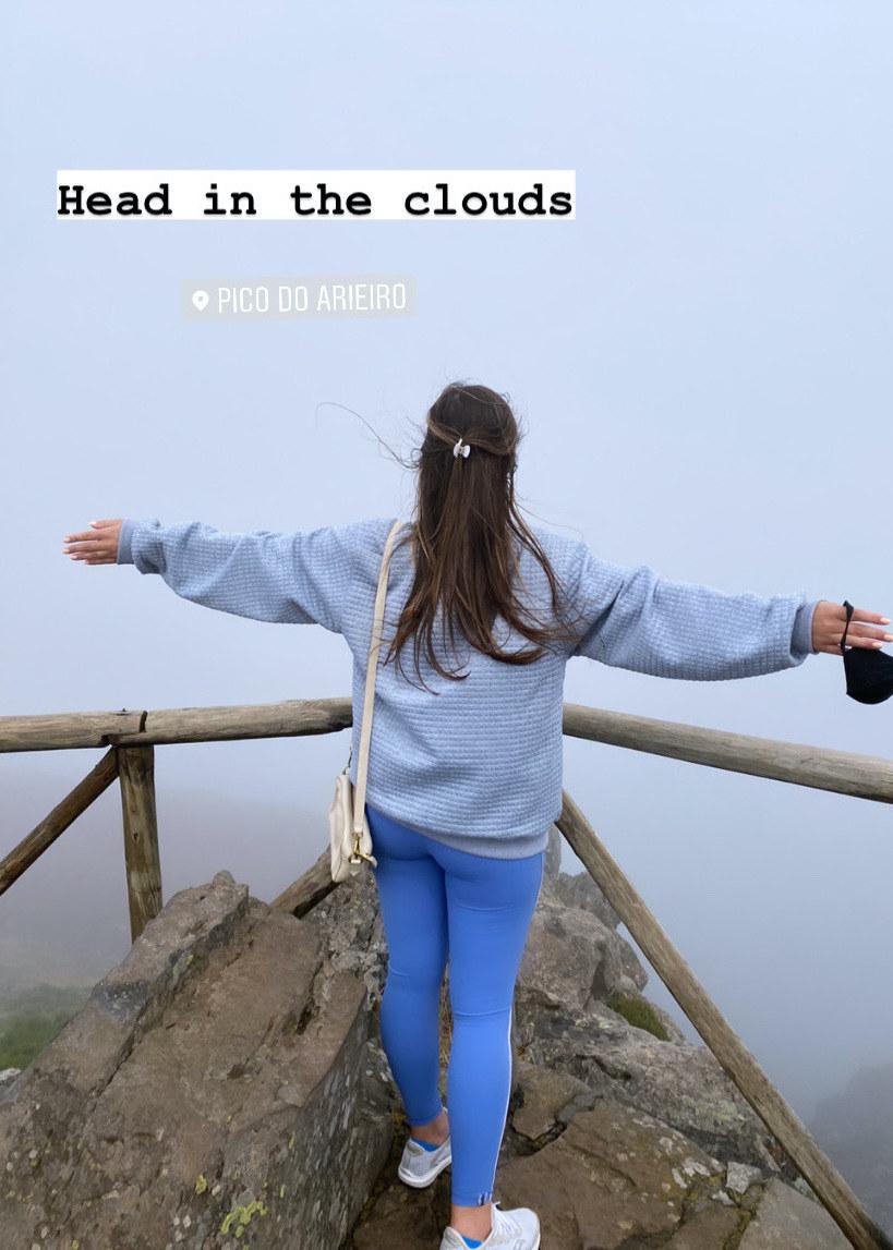 person standing on Pico De Ariero