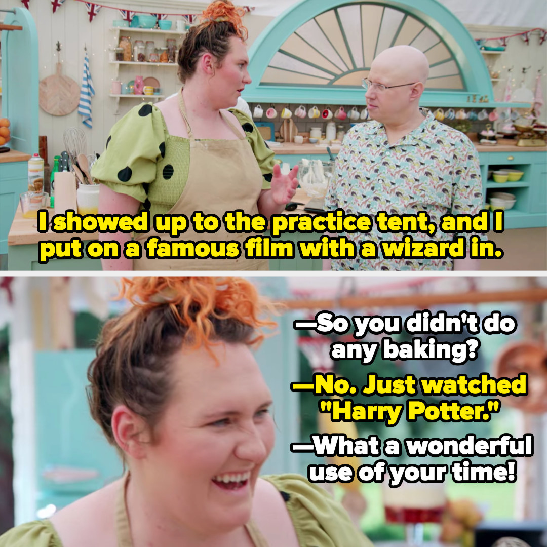 Lizzie tells Matt she watched Harry Potter instead of practicing