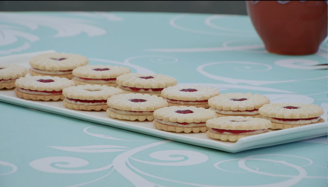 The example platter of the biscuits
