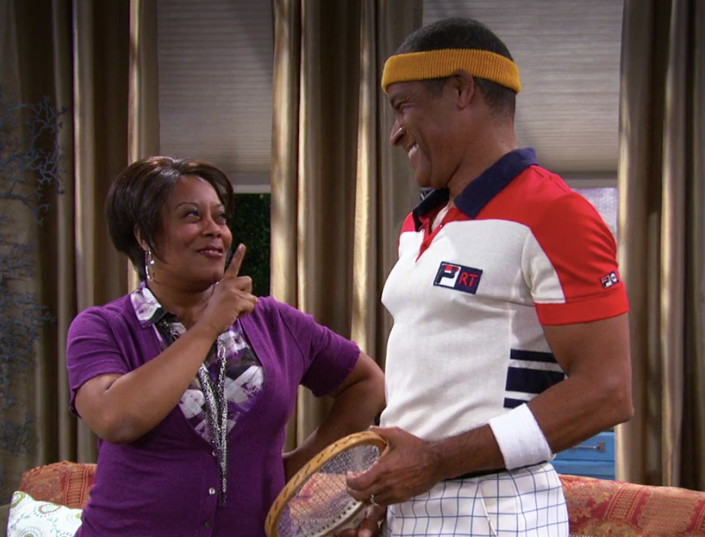 Marcie jokingly chastises Curtis
