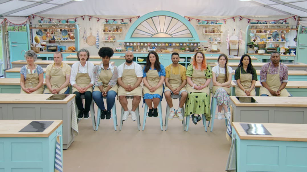 All of the bakers waiting for the final results