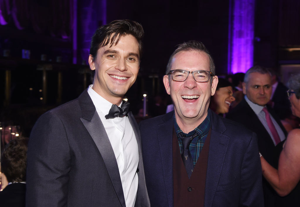 Antoni and Ted together at an event