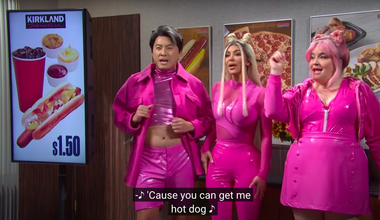 Bowen Yang, Kim Kardashian, Aidy Bryant
