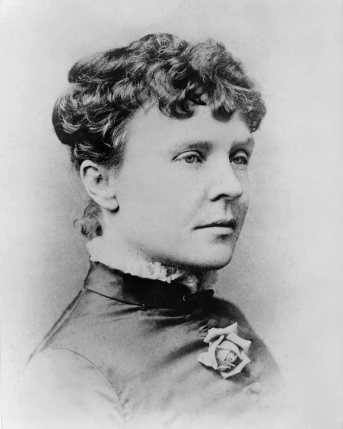 A portrait of Rose Cleveland