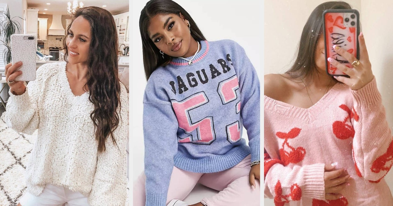 If You Need A New Cozy Sweater For Fall, It's In This Post