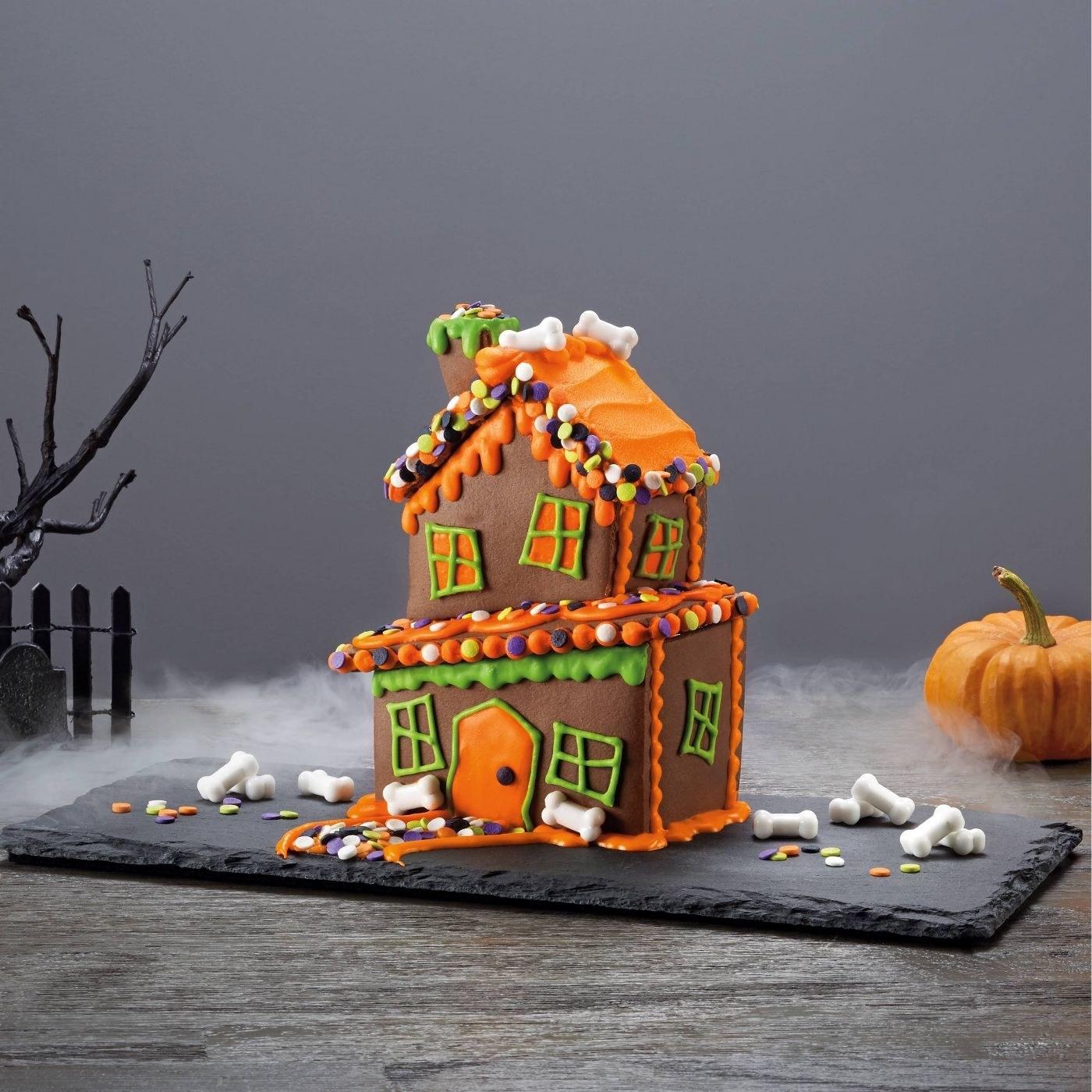A Halloween house kit