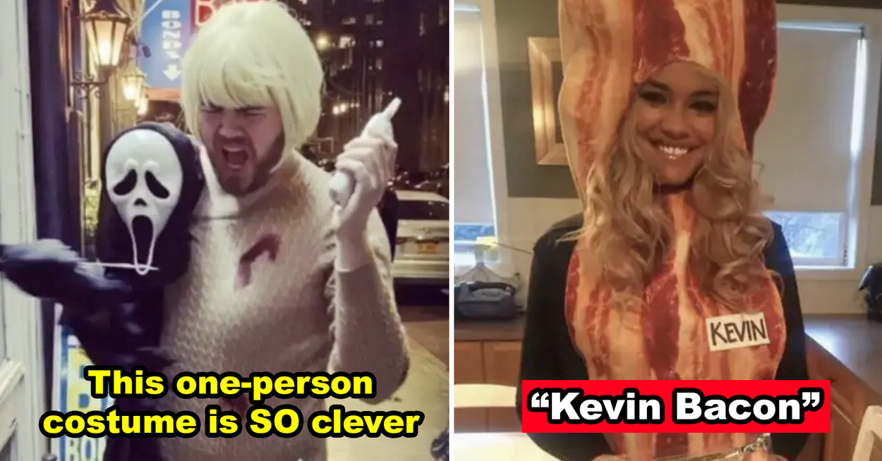 47 Genius Halloween Costume Ideas That Will Actually Make People Jealous Of You