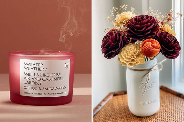 23 Things That'll Get Your Home Looking (And Smelling) Like Fall