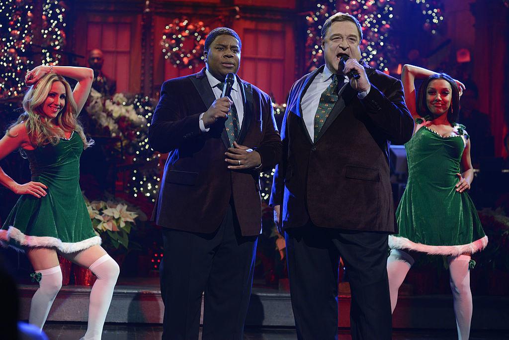 John Goodman singing with Keenan Thompson