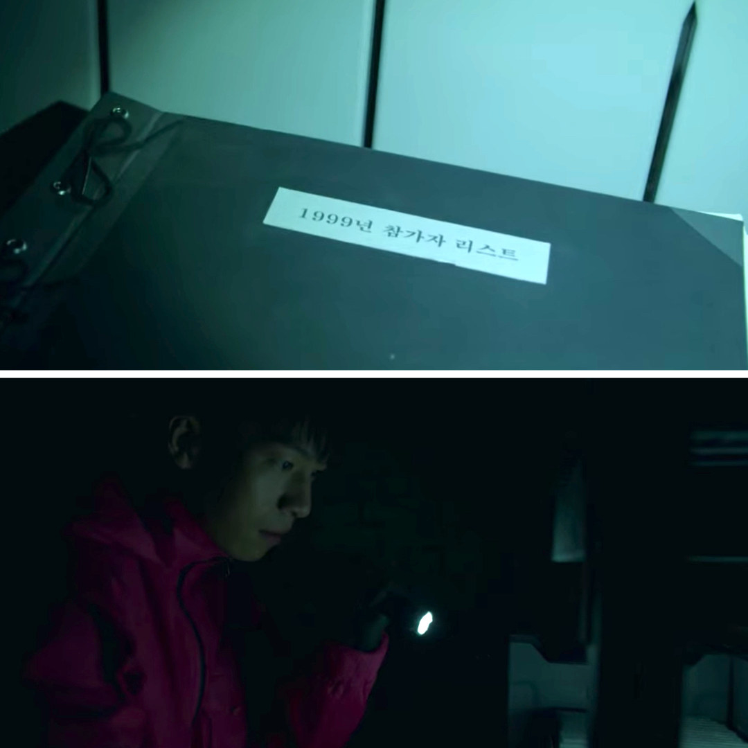 Jun-ho sees a file labeled 1999