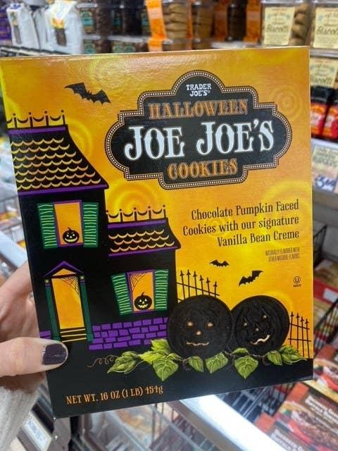 Halloween Joe Joe's Cookies