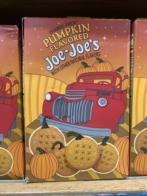 Pumpkin Flavored Joe-Joe's
