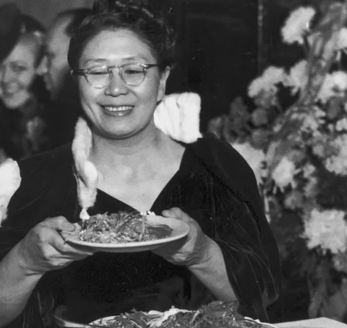 Chung at one of her fundraisers