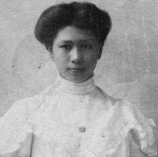 Margaret Chung as a young woman