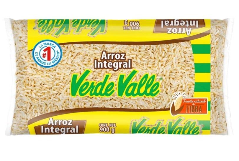 Foto de paquete de arroz integral del Valle