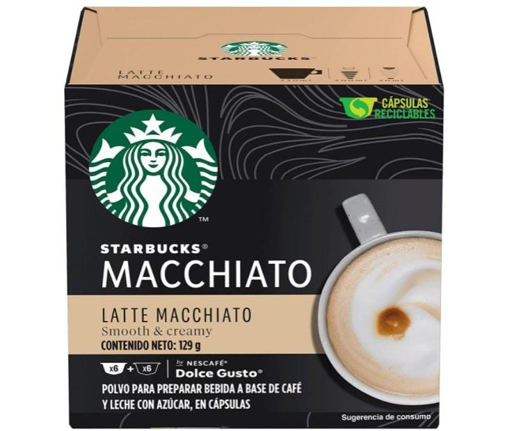 Foto de caja de cápsulas de café Starbucks
