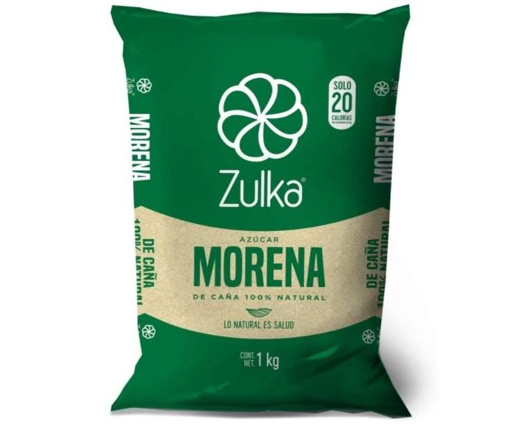 Foto de paquete de azucar morena de la marca Zulka