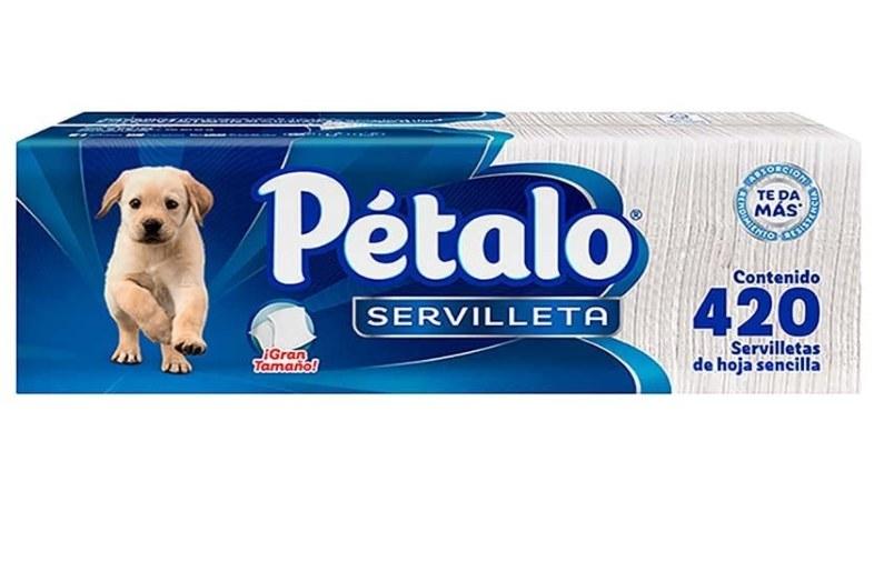 Foto de servilletas de la marca pétalo