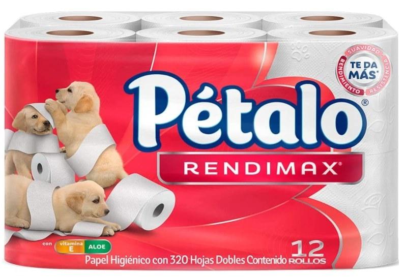 Foto de papel higienico marca pétalo