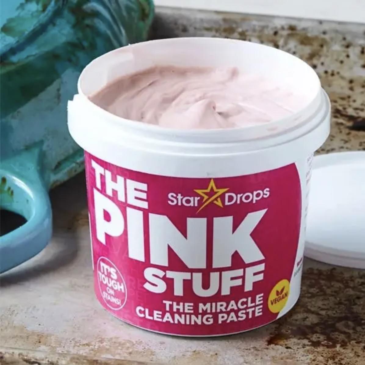 pasta de limpieza multiusos The Pink Stuff