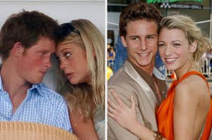 prince harry and blake lively and their 2006 sig others