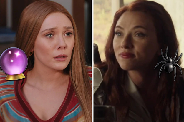 Everyone Either Embodies Scarlet Witch Or Black Widow — Which Badass Female Are You?