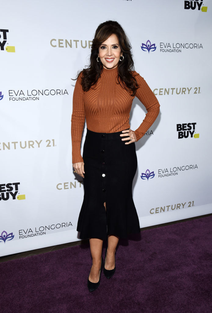 Maria Canals-Barrera in 2019 posing at a red carpet event