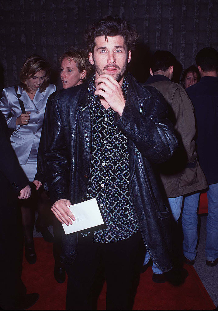 Patrick Dempseyarriving at the Scream world premiere red carpet