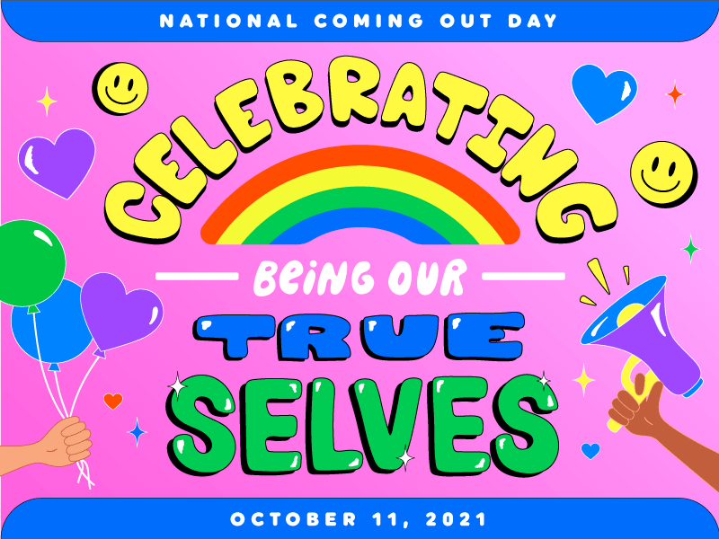 celebrating being our true selves