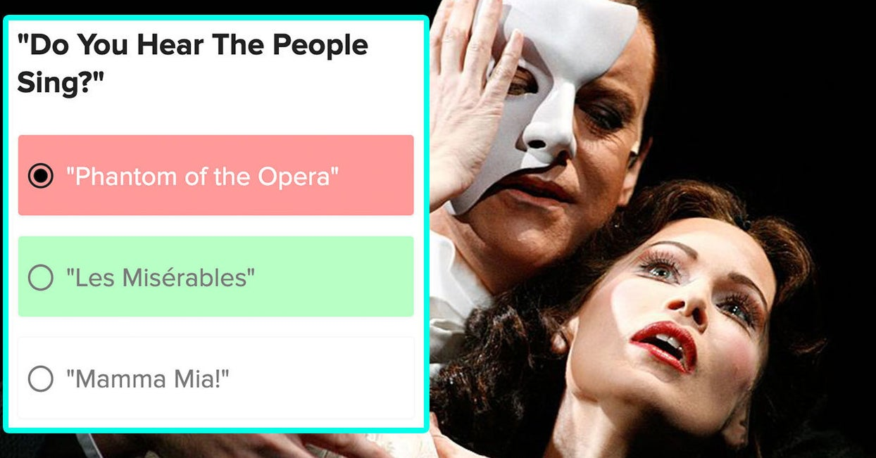 This Broadway Musical Song Quiz Gets Really Hard Really Quick