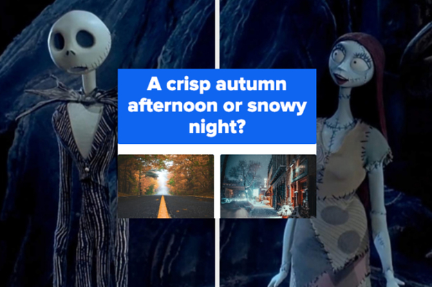"""This 12-Level """"This Or That"""" Halloween And Christmas Quiz Will Reveal If You're More Like Jack Or Sally"""