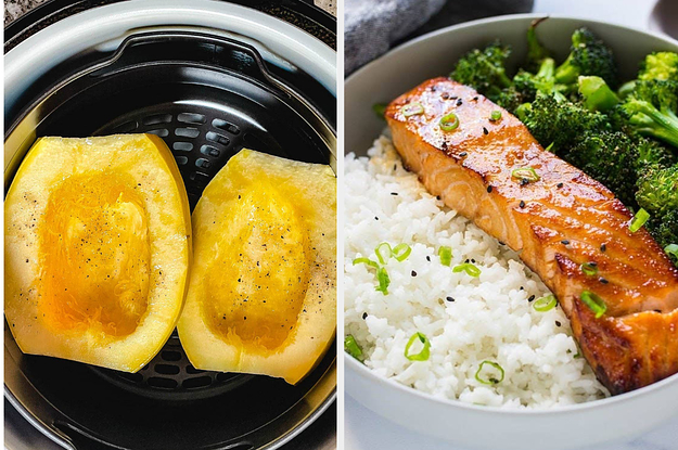 """41 Nutritious Air Fryer Recipes That Will Make You Stop And Say """"Whoa, Is This Seriously Not Fried?"""""""