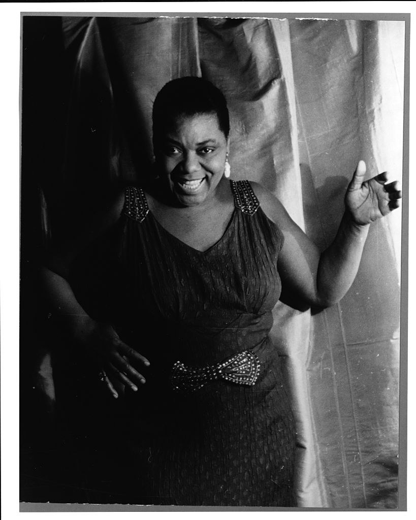 Bessie Smith in a performance outfit