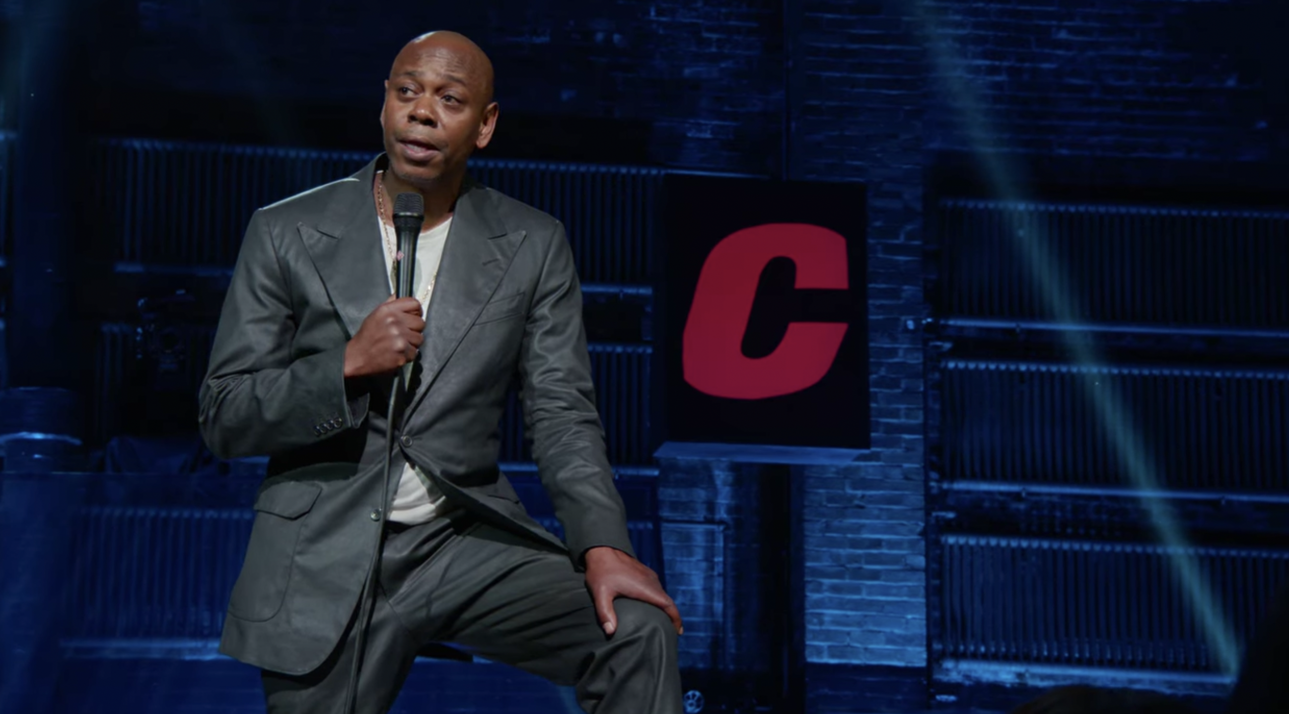 Dave Chappelle in his Netflix special The Closer