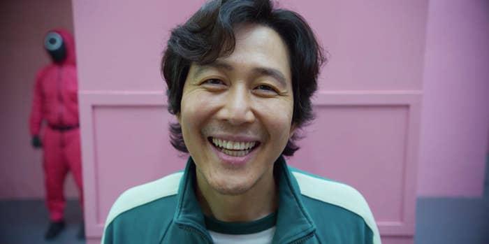 Gi-hun smiling
