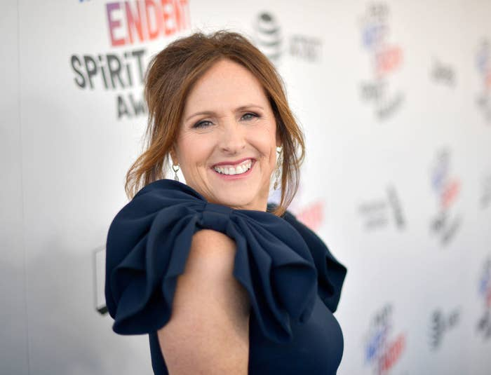 Molly Shannon attends the 2018 Film Independent Spirit Awards