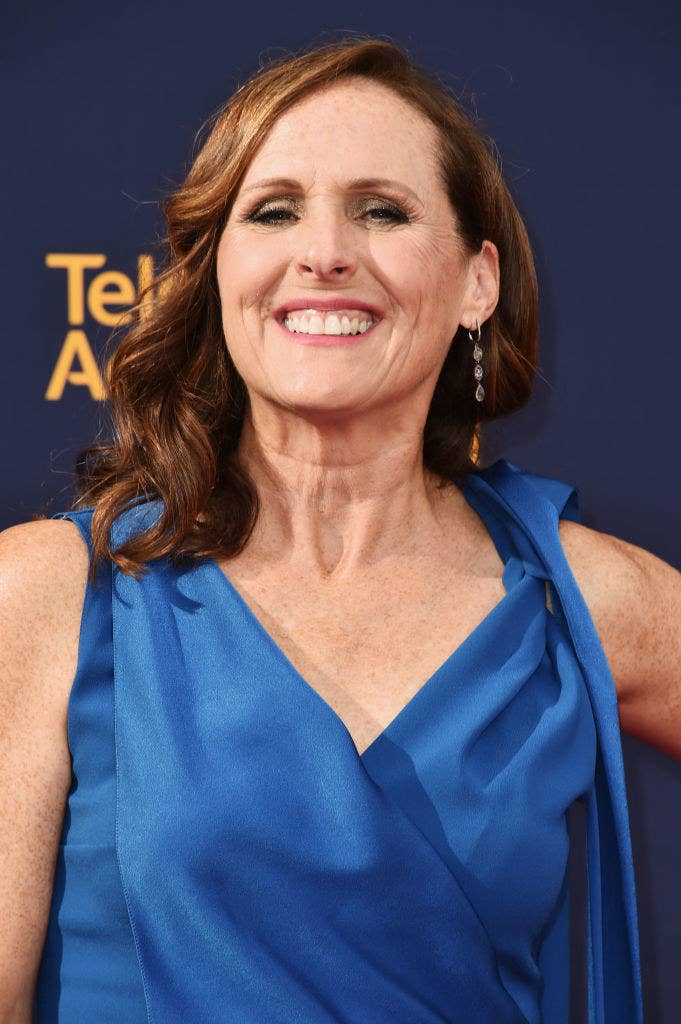 Molly Shannon attends the 2018 Creative Arts Emmy Awards