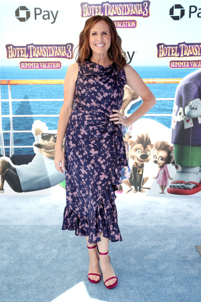 Molly Shannon attends the Columbia Pictures and Sony Pictures Animation's world premiere of 'Hotel Transylvania 3: Summer Vacation'