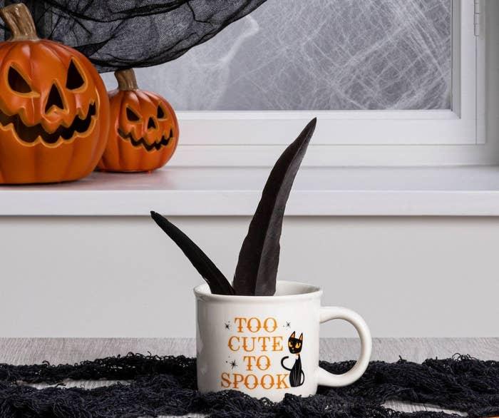 A halloween mug