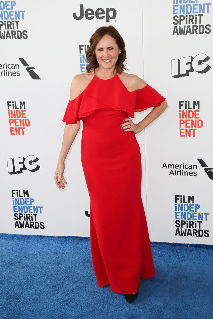Molly Shannon attends the 2017 Film Independent Spirit Awards