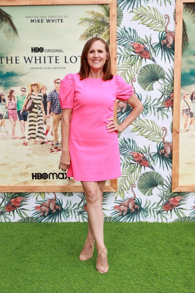"""Molly Shannon attends the Los Angeles premiere of the new HBO Limited Series """"The White Lotus"""""""