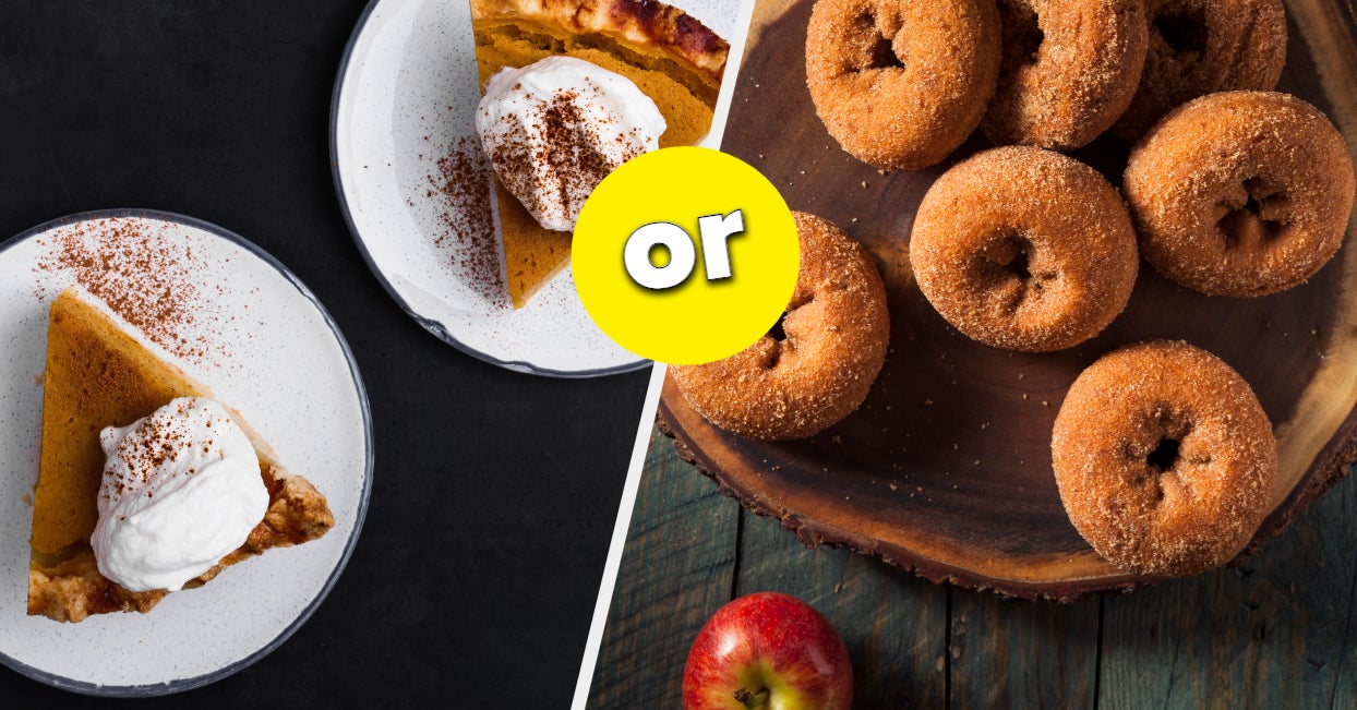 Pick Your Fave Fall Treats And We'll Reveal Which Type Of Friend You Are
