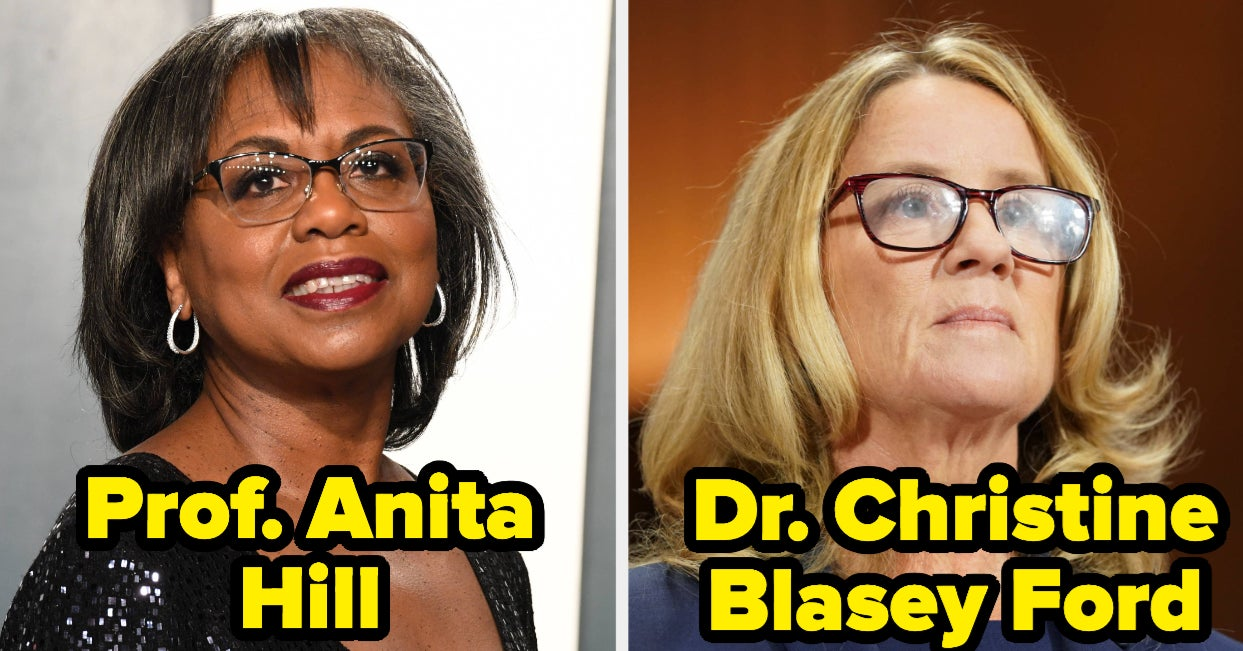 Anita Hill And Christine Blasey Ford Said They Think The Senate Judiciary Committees Believed Them, But