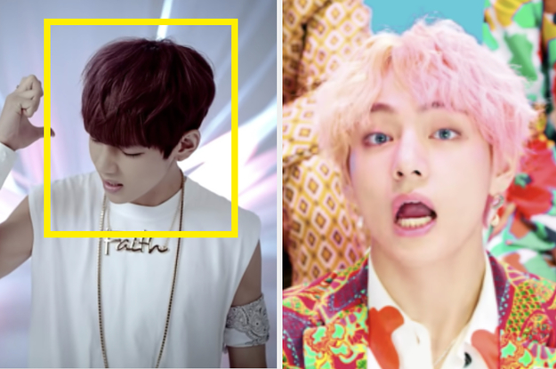 Can You Guess The BTS Music Video From V's Hair Color?