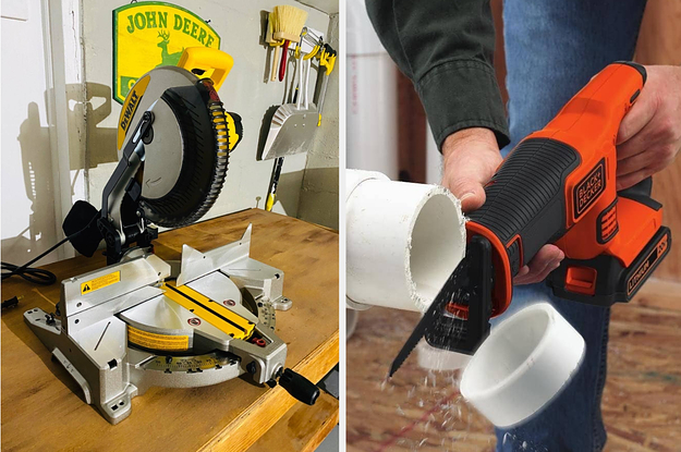 Thanks To Amazon's Epic Daily Deals, You Can Save Big On Saws, Drills, And Other Tools