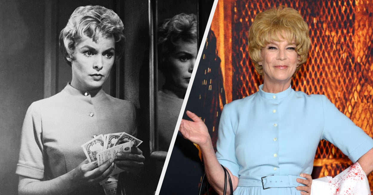 """Jamie Lee Curtis Dressed Up As Her Mother's """"Psycho"""" Character, And The Resemblance Is Truly Uncanny"""
