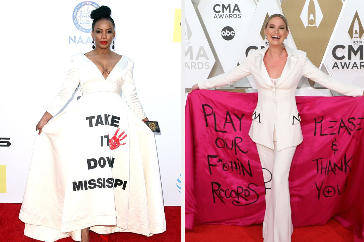 These 24 Red Carpet Outfits Weren't Just Gorgeous — They Also Sent A Powerful Message